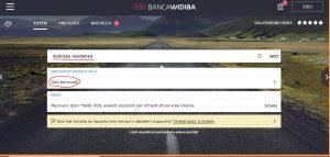 come si cambia indirizzo corrispondenza o residenza banca widiba